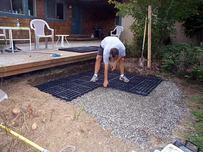 Stabiligrid For Spa Base Hot Tub Backyard Hot Tub