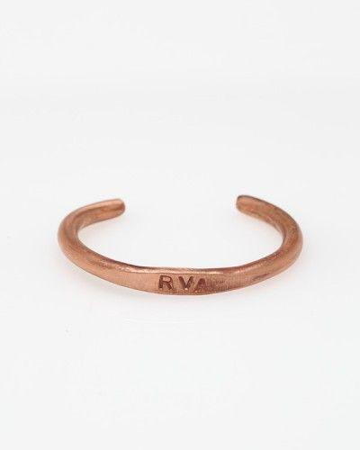 Para eL!  RVA Copper Bar Cuff