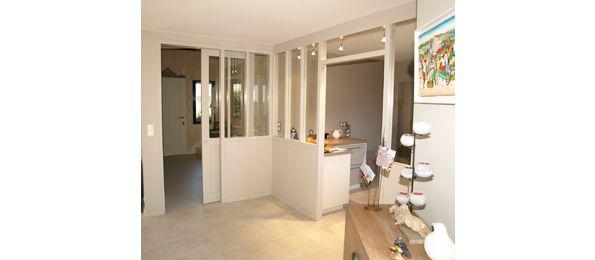 S paration salle manger cuisine entree pinterest for Modele de separation entre cuisine et salle a manger
