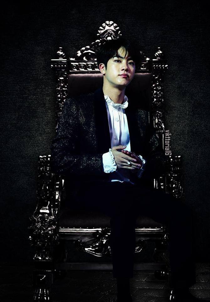 #Jin ️ ©vikttoria16 | Bts | Bts jin, BTS y Bts bangtan boy