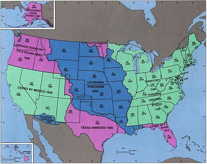 US Expansion On April 30 1803 the nation of France sold