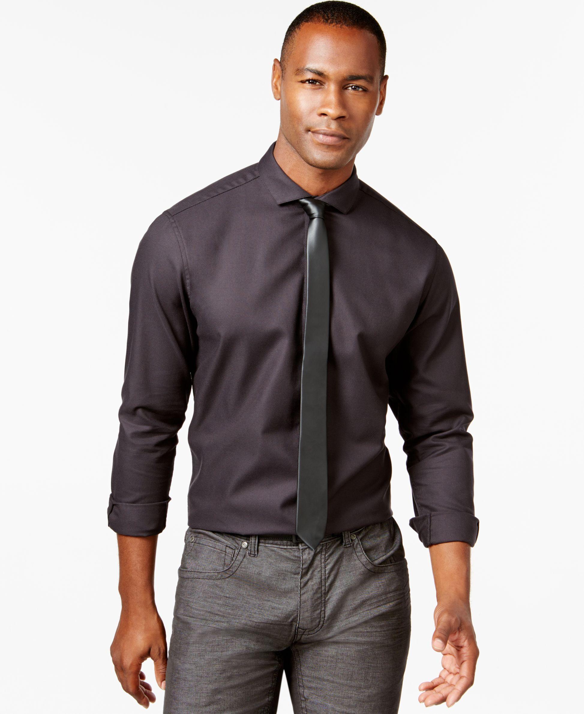 Big And Tall Inc International Concepts Bucksey Long Sleeve Shirt