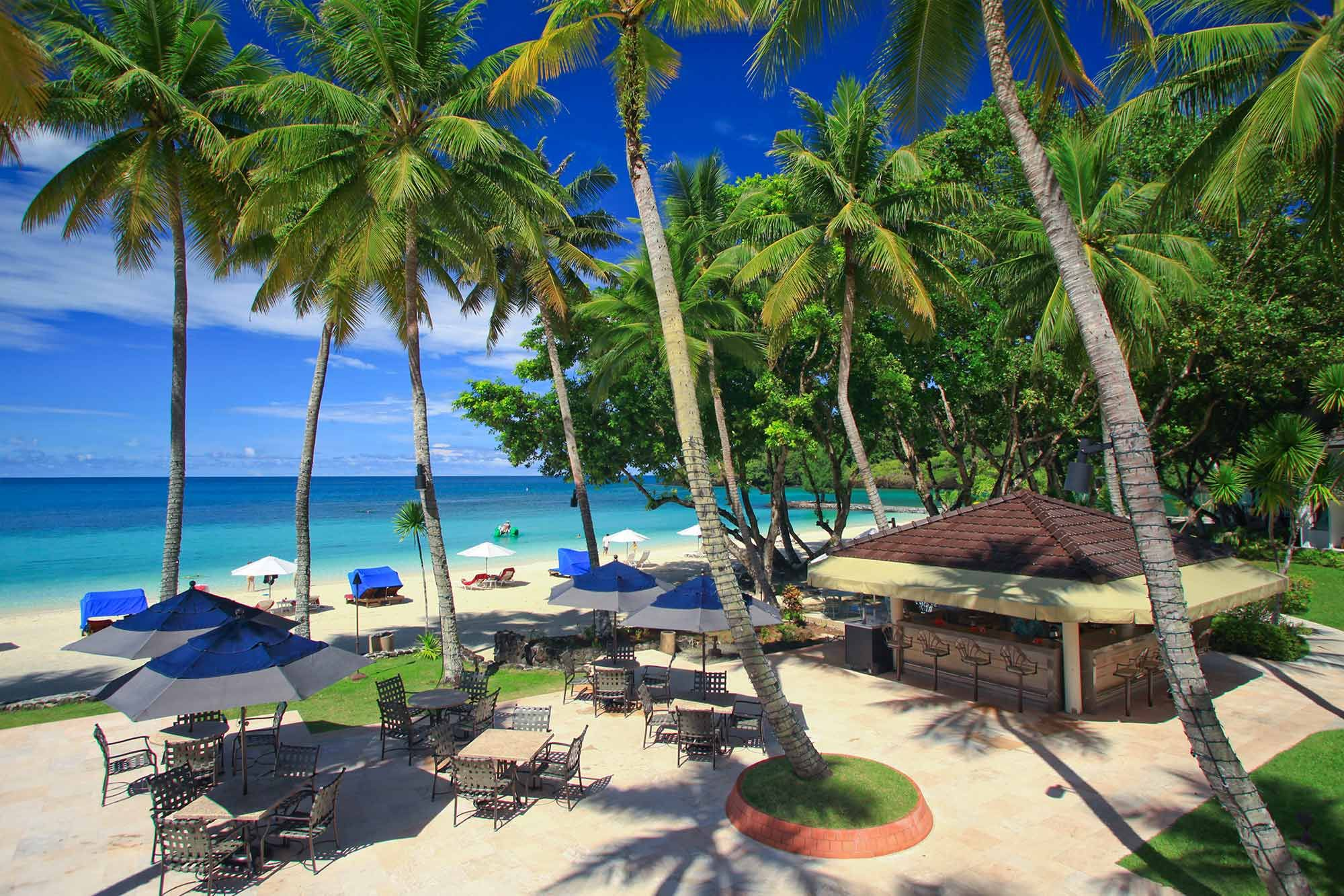 Palau Pacific Resort Is A Luxury Offering Tropical Accommodations Spa Services Private Beach And On Site Dining This Island Hotel