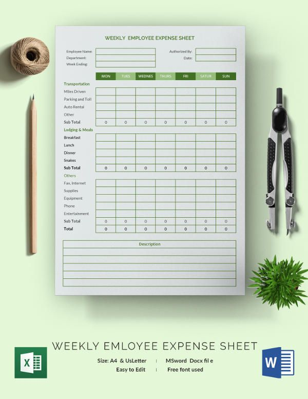 Expense Sheet Template bill Pinterest Template and Pdf