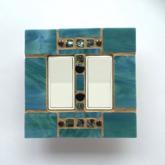 Decorative Stained Glass Light Switch Cover Mosaic Switch Etsy Stained Glass Light Decorative Switch Plate Light Switch Covers