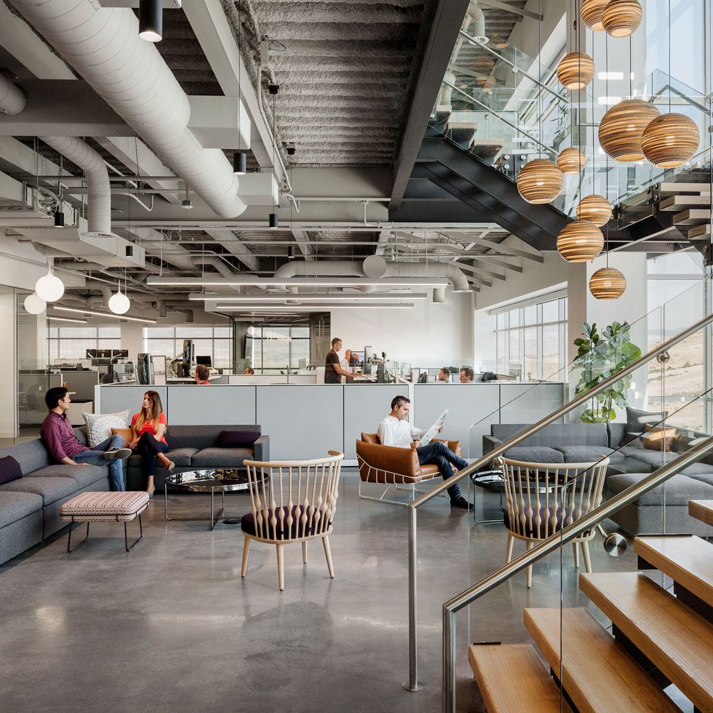"Rapt Studio creates ""family rooms"" inside new Utah headquarters for Ancestry"