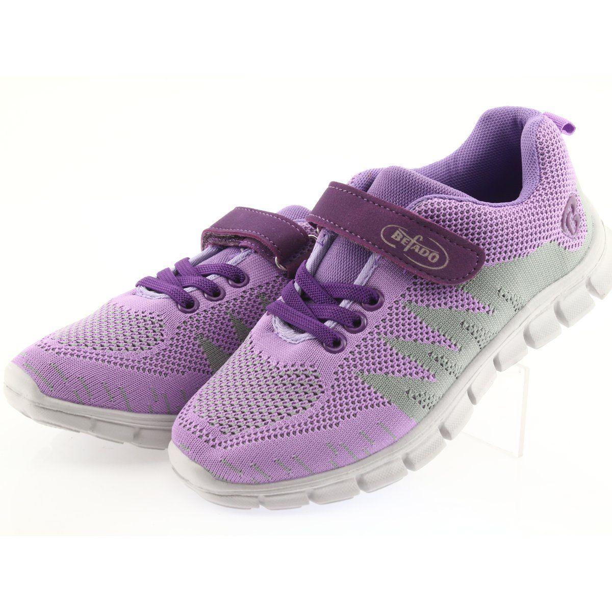 Befado Obuwie Dzieciece Do 23 Cm 516y025 Fioletowe Childrens Shoes Kid Shoes Shoes