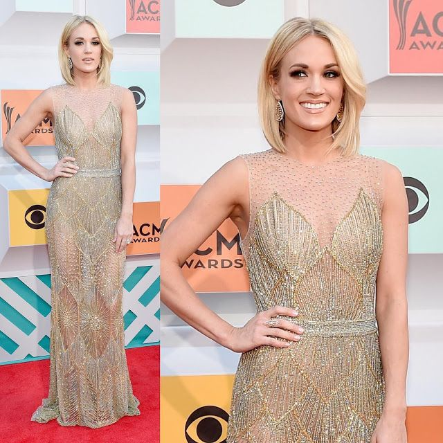 Carrie Underwood Arrives in Style for ACM Awards 2016