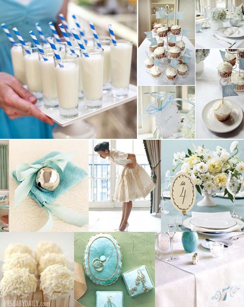 If You Re Looking For A Lovely Bridal Shower Theme What About Something Blue