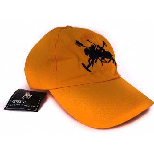 b5a34c75bd9 Ralph Lauren Timeworn Chino Hat Orange