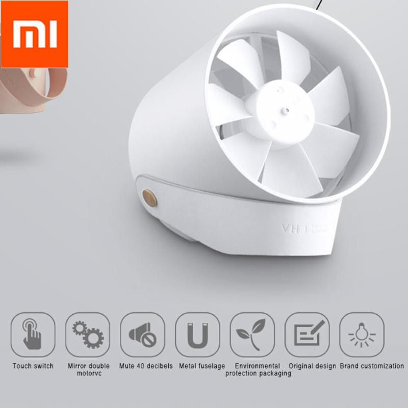 Xiaomi VH Portable Mini USB Rechargeable Desktop Handheld Fan For Summer Travel