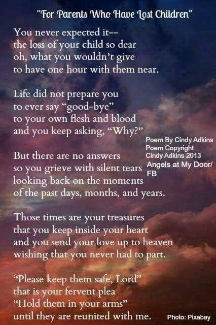 Pin by Sharon Rushworth on funeral poems | I miss my