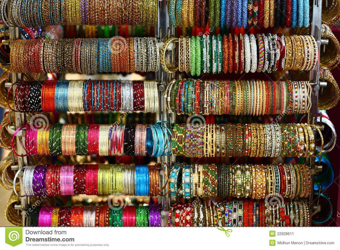 Красочные Южной Индии Bangles Stock Image - Image: 22928611 ...