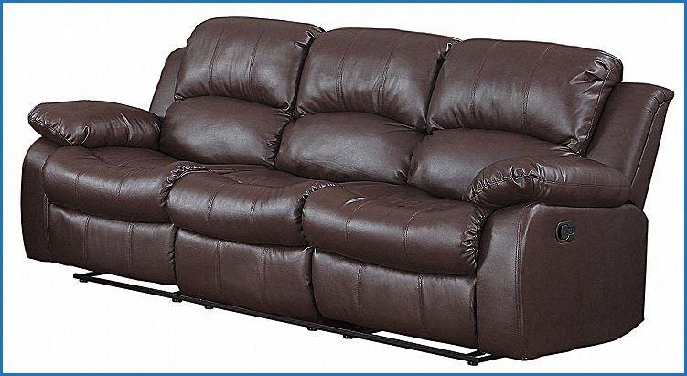 Inspirational Clic 3 Seat Bonded Leather Double Recliner Sofa Rh Pinterest Com