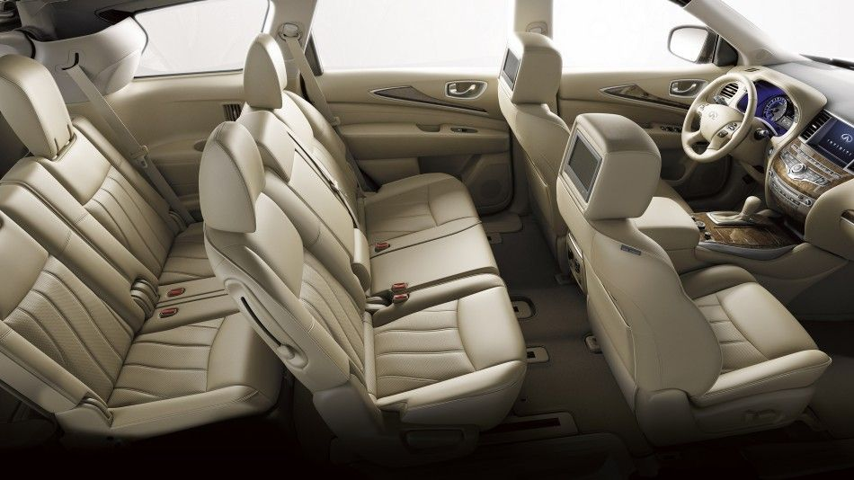2016 Infiniti Qx60 Crossover Interior Seating For Seven 2016