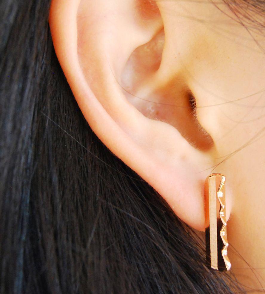Key Bar Earrings