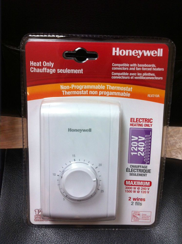 Details about Honeywell RLV210A HEAT ONLY NONPROGRAMMABLE