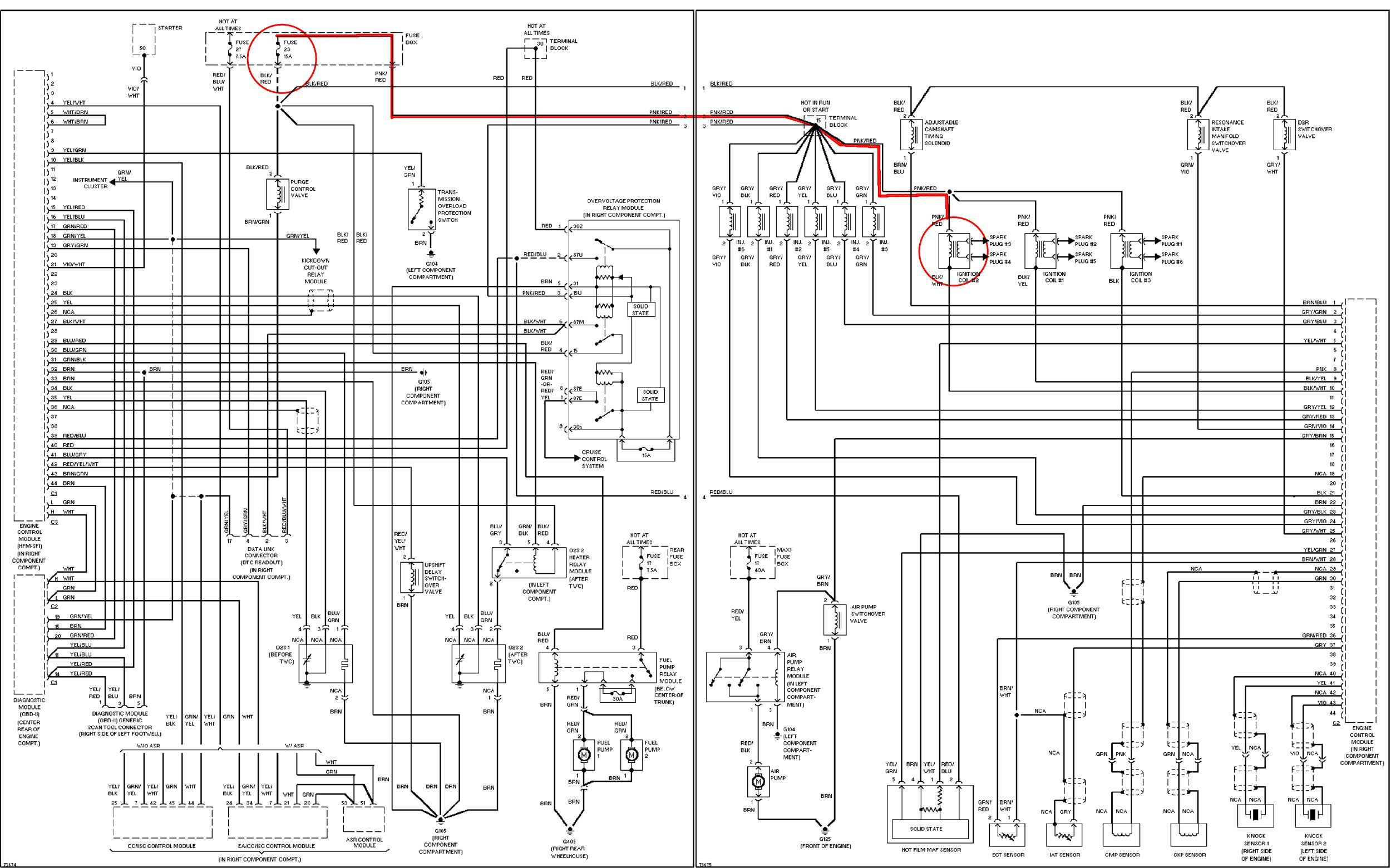 k1blm to mercedes benz wiring diagram [ 2500 x 1561 Pixel ]