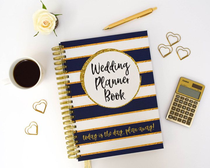 Etsy Wedding Planner Book Engagement Gift Bride to Be Present