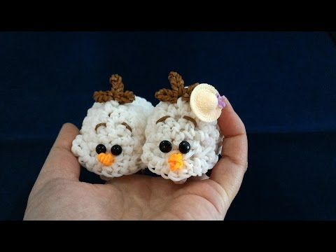 Amigurumi Olaf Tutorial : Pin by rennie breznik on rainbow loom pinterest rainbow loom