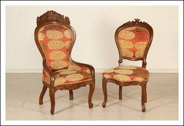 Sedie Antiquariato ~ Poltrona e sedia antiques pinterest antiquariato mobili