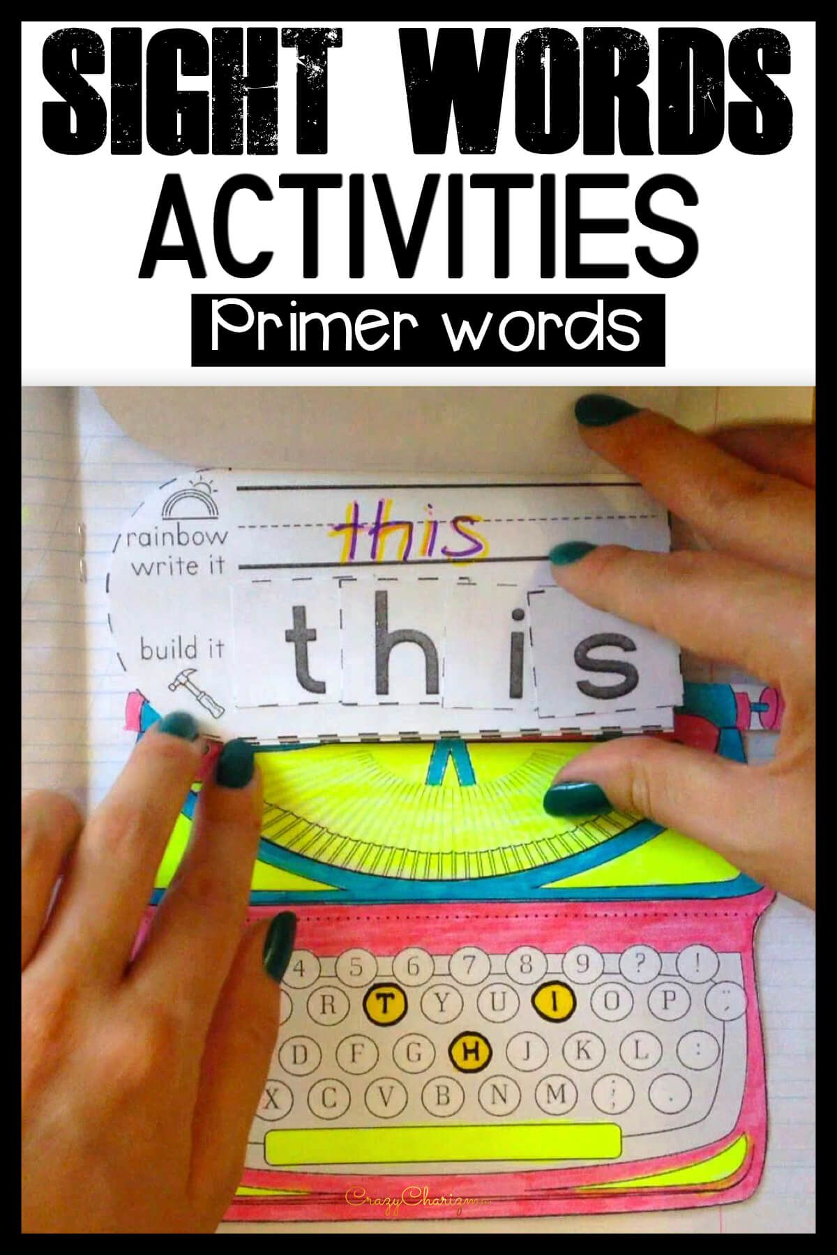 Need To Teach Primer Sight Words To Kids Use This