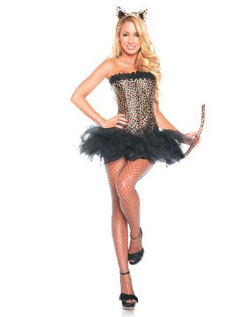 3a02a91c98 Womens Sexy Leopard Costume | Sexy Cat Halloween Costumes ...