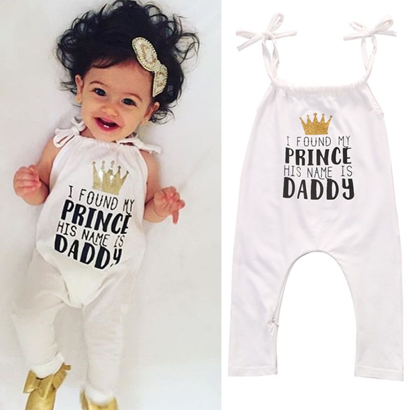 5957abff2564 Newborn Infant Baby Girl Halter Bodysuit Romper Jumpsuit Toddler Clothes  Outfits