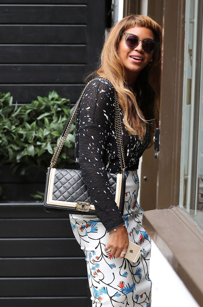 c3dceec32ab0 50 Pics That Prove Celebs are Just as Obsessed with the Chanel Boy Bag as  We Are