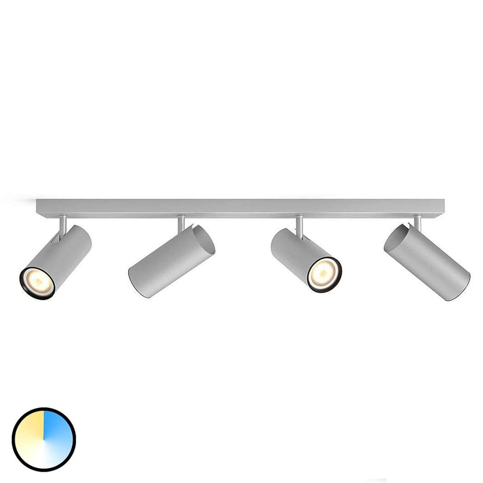 Philips Hue Buratto Spot Led Alu 4l Variateur Led Lampen Afstandsbediening