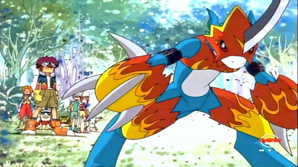 Digimon flamedramon by schnuffelienchen digimon seasons