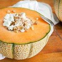 Cantaloupe Bowl Snack Recipe