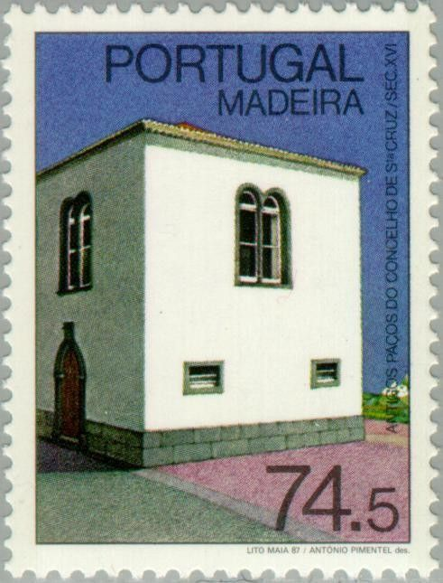 Stamp: Buildings (Madeira Islands) (Monuments of Madeira) Mi:PT-MD 117,Sn:PT-MD…