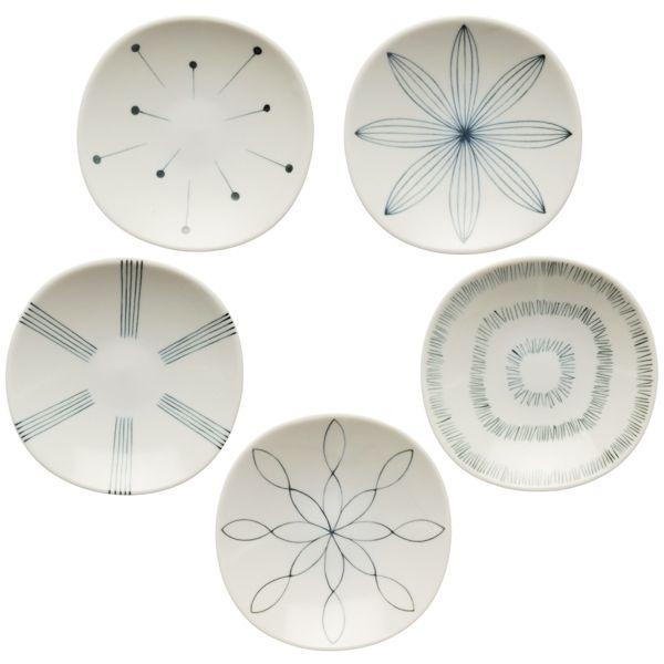 小鳥皿 五種セット