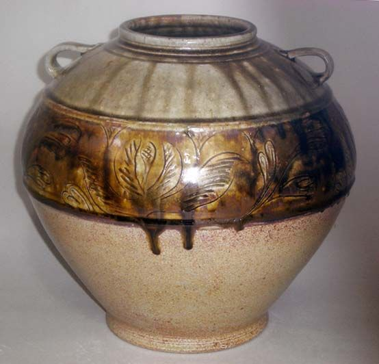 Travis and Pam Owens, Jugtown | Pottery vase, Art
