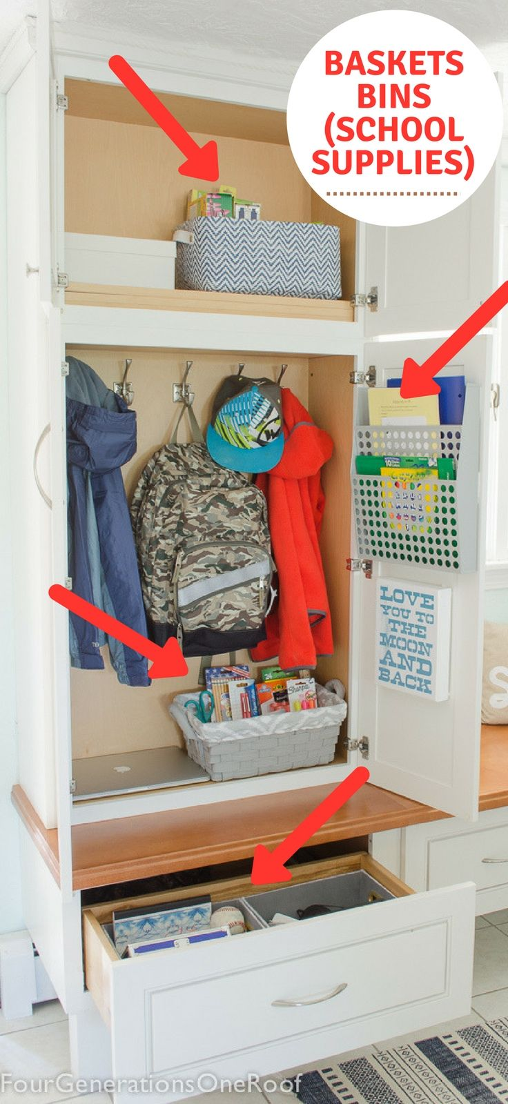 How to make a school locker at