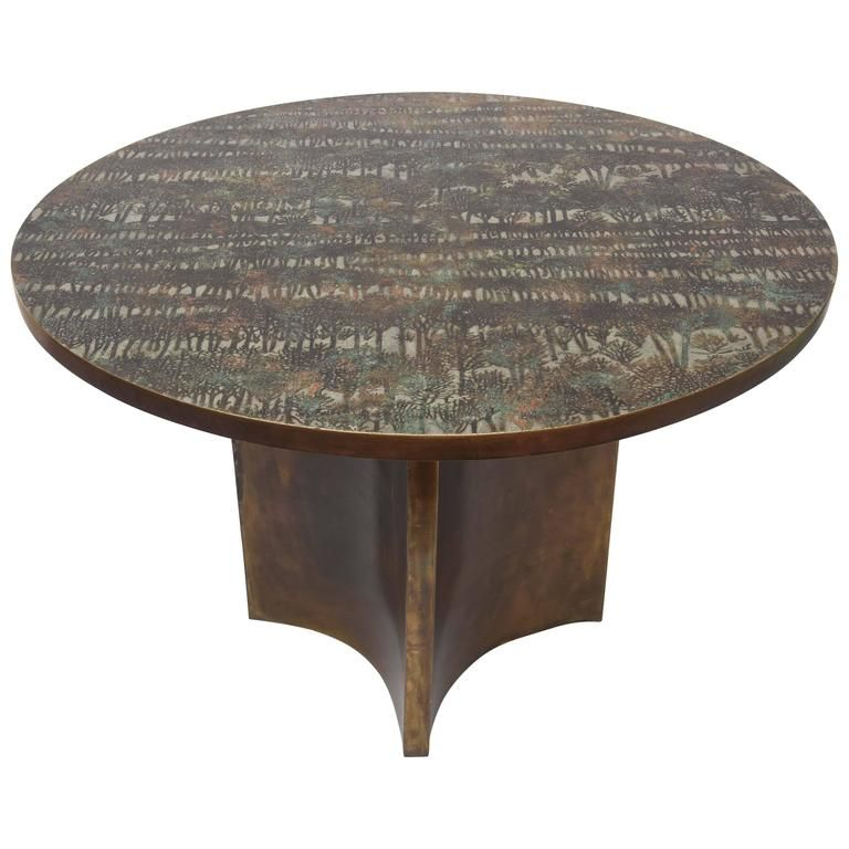 Philip & Kelvin Laverne Eternal Forest Dining Table | 1stdibs.com