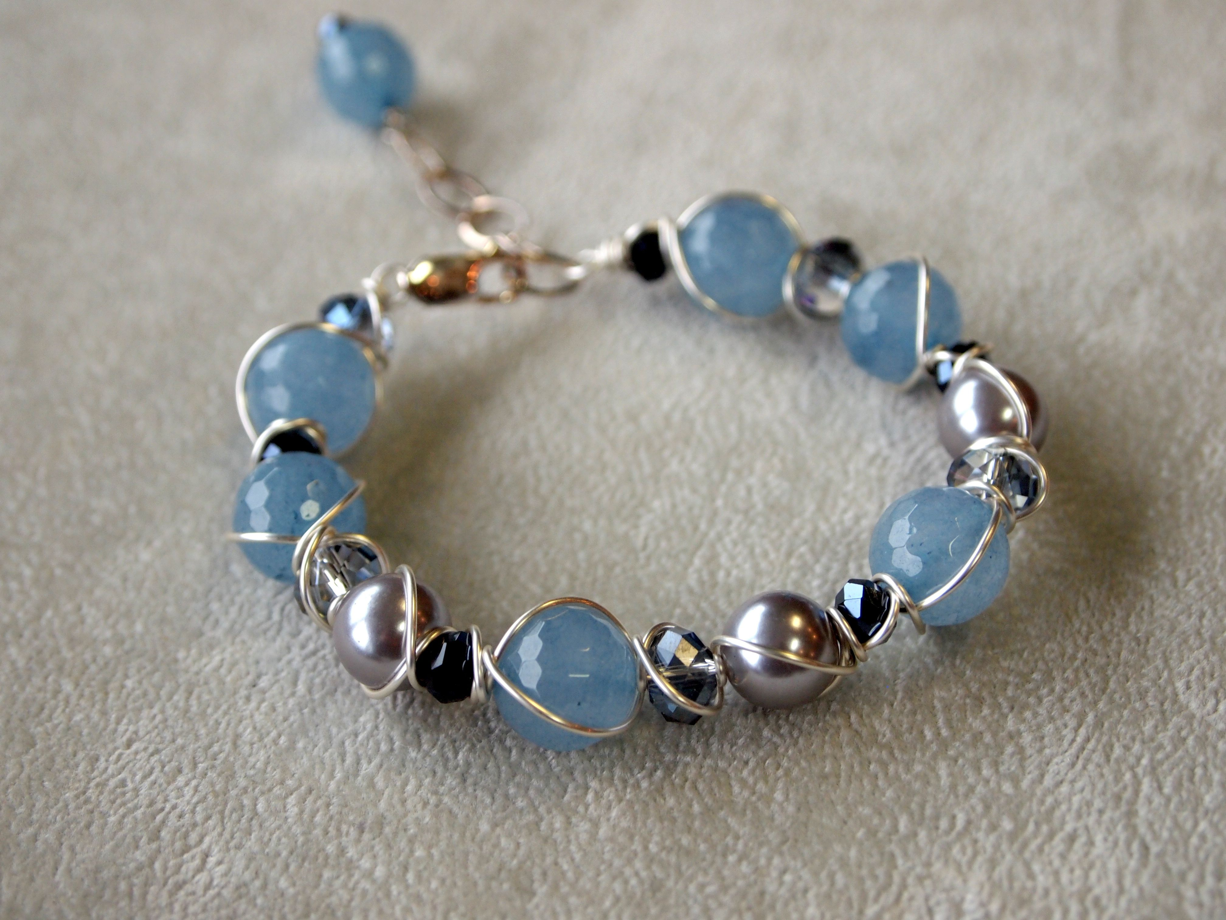 wire wrapped bracelets | Wire Wrapped Bracelet | Wire Wrapped ...