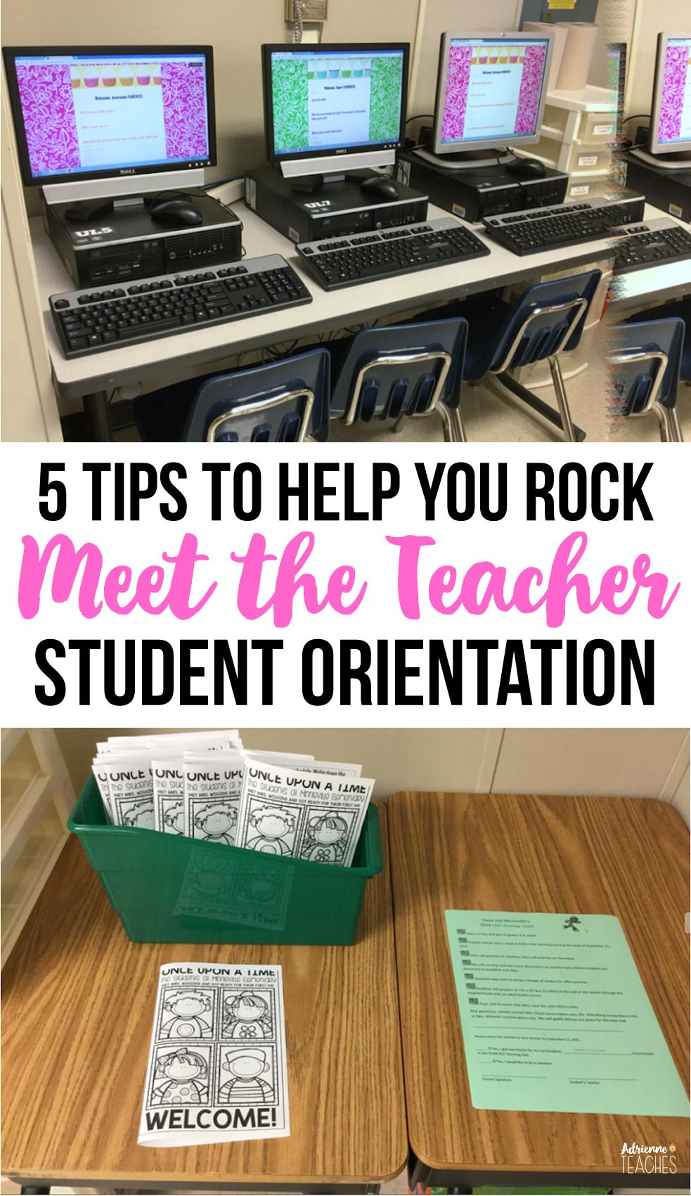 """5 Tips to Your Best """"Meet the Teacher Day"""" Ever! #meettheteachernight"""