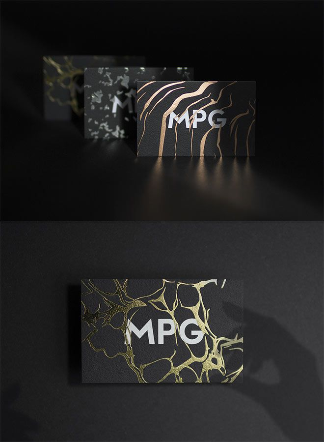 Showcase of Creative Print Designs with Hot Foil Stamping | Business ...