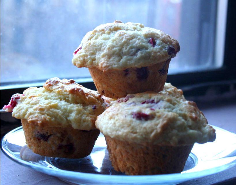lemon cranberry muffins - Yum!!