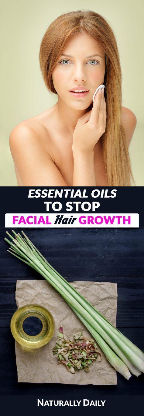 7 Ätherische Öle zur Haarentfernung bei Gesicht oder Hirsutismus #hairremoval