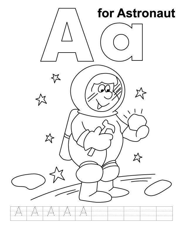 Top 10 Free Printable Astronaut Coloring Pages Online ...