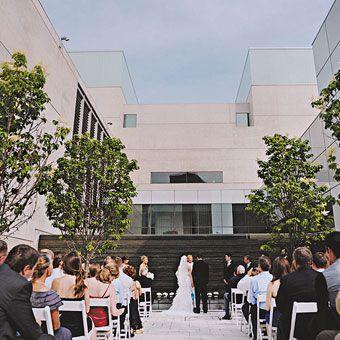 A Modern Museum Wedding In Grand Rapids