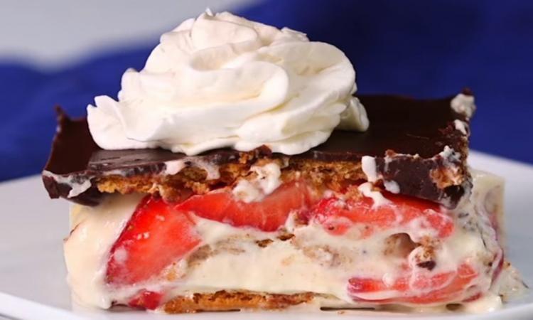 Inratable et immanquable! Mon éclair aux fraises sans cuisson, c'est que du bonheur!