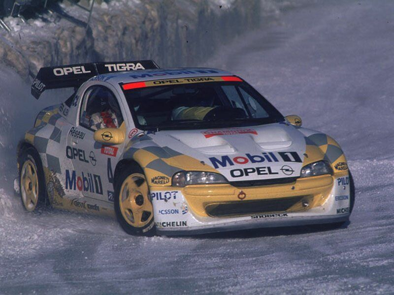 Opel Tigra A | All Racing Cars | Motorsport | Pinterest | Rally ...