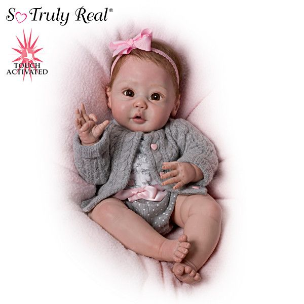 Sherry Miller Quot Cuddly Coo Quot Interactive Baby Doll That