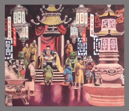 Marco Polo (Original) art by Ron Embleton Archive | obrazy Klio ...