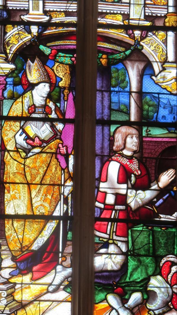 Photos de Vitraux - monastère royal de Brou - Bourg-en-Bresse