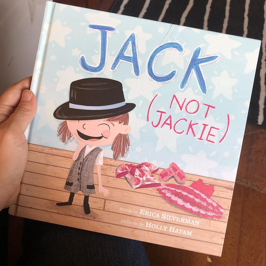 Jack (Not Jackie) by Erica Silverman — Another great story about  inclusivity and acceptance! #schoolcounselor #schoolcounseling  #picturebooksaremyjam